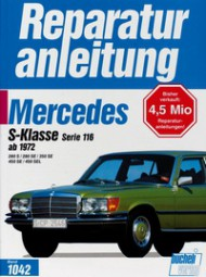 Mercedes-Benz S-Klasse W116 (280 350 450 S SE SEL) #2# Reparaturanleitung Band 1042