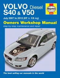 Volvo S40 & V50 Diesel · 2007-2013 #2# Haynes Owners Workshop Manual · Reparaturanleitung
