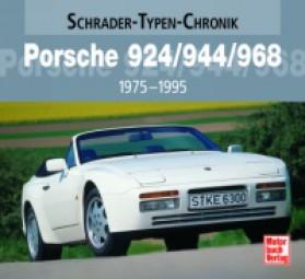 Porsche 924/944/968 · 1975-1995 #2# Schrader-Typen-Chronik