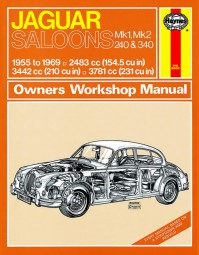 Jaguar Saloons Mk. 1, Mk. 2, 240 & 340 #2# Haynes Owners Workshop Manual · Reparaturanleitung