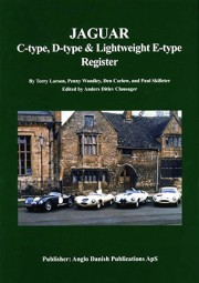Jaguar C-type, D-type, & Lightweight E-type Register