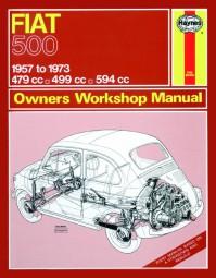 Fiat 500 · 1957-1973 #2# Haynes Owners Workshop Manual · Reparaturanleitung