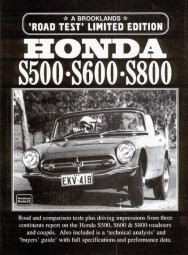 Honda S500 · S600 · S800 #2# Brooklands Road Test Limited Edition