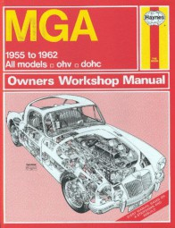 MGA (MG A 1500 1600 Twin Cam) #2# Haynes Owners Workshop Manual · Reparaturanleitung