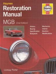 MGB (MG B C GT V8) #2# Haynes Restoration Manual · Restaurierungs-Anleitung