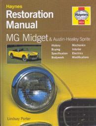MG Midget & Austin-Healey Sprite #2# Haynes Restoration Manual / Restaurations-Anleitung