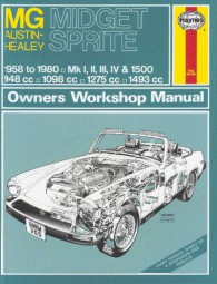 MG Midget & Austin-Healey Sprite #2# Haynes Owners Workshop Manual · Reparaturanleitung