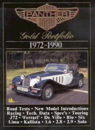 Panther 1972-1990 #2# Brooklands Gold Portfolio