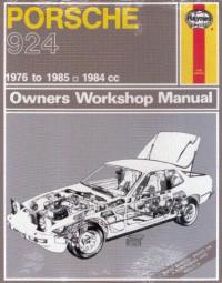Porsche 924 · 1976-85 #2# Haynes Owners Workshop Manual · Reparaturanleitung