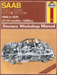 Saab 95 & 96 V4 · 1966-1976 #2# Haynes Owners Workshop Manual · Reparaturanleitung