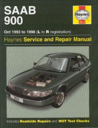 Saab 900 / Turbo · 1993-1998 #2# Haynes Service & Repair Manual · Reparaturanleitung