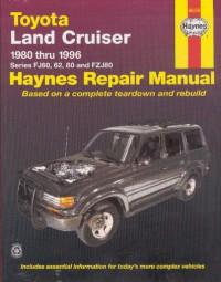 Toyota Land Cruiser 1980-96 (FJ 60 62 80 FZJ80) #2# Haynes Repair Manual · Reparaturanleitung