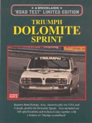 Triumph Dolomite Sprint #2# Brooklands Road Test Limited Edition