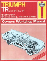 Triumph TR 2 3 3A 4 4A #2# Haynes Owners Workshop Manual · Reparaturanleitung