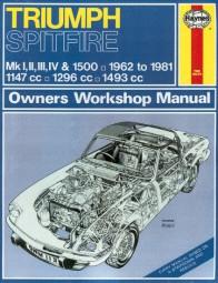 Triumph Spitfire Mk I II III IV & 1500 #2# Haynes Owners Workshop Manual · Reparaturanleitung