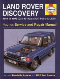Land Rover Discovery · 1989-98 #2# Haynes Service & Repair Manual · Reparaturanleitung