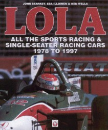 LOLA #2# All the Sports Racing & Single-Seater Racing Cars 1978-1997