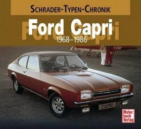 Ford Capri · 1969-1987 #2# Schrader-Typen-Chronik