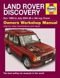 Land Rover Discovery (Diesel) 1998-2004 #2# Haynes Owners Workshop Manual · Reparaturanleitung