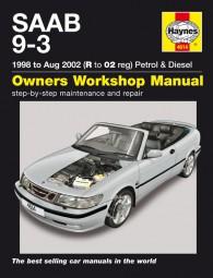 Saab 9-3 · 1998-2002 #2# Haynes Owners Workshop Manual · Reparaturanleitung