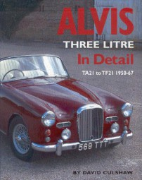 Alvis Three Litre In Detail #2# TA21 to TF21 1950-67