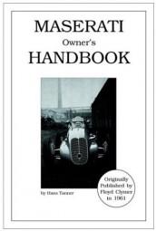 Maserati Owner's Handbook #2# Reprint Floyd Clymer 1961