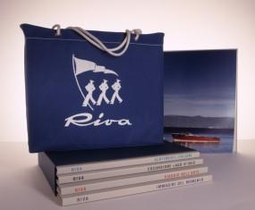 RIVA EDITION-Set #2# Volumes 1-4 im Schuber mit RIVA Cover Tasche