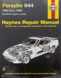 Porsche 944 · 1983-1989 #2# Haynes Repair Manual · Reparaturanleitung