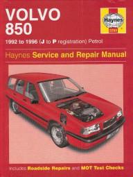 Volvo 850 · 1992-1996 #2# Haynes Service & Repair Manual · Reparaturanleitung