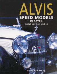 Alvis Speed Models in Detail #2# Speed 20, Speed 25, 3½-Litre & 4.3