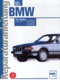 BMW 7er-Reihe E32 (730i 735i 750i) #2# Reparaturanleitung Band 931