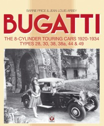 Bugatti #2# The 8-Cylinder Touring Cars 1920-1934 · Types 28, 30, 38, 38a, 44 & 49