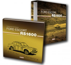 Ford Escort RS1600 #2# The story of the 1972 Safari Rally winning Escort RWC 455K