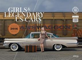 Girls & legendary US-Cars #2# Wochenkalender 2016