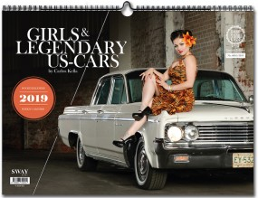 Girls & legendary US-Cars #2# Wochenkalender 2019