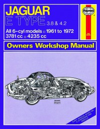 Jaguar E-Type · Serie 1, 1½ & 2 #2# Haynes Owners Workshop Manual · Reparaturanleitung