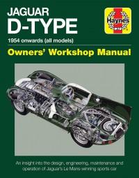 Jaguar D-Type · 1954 onwards (all marks) #2# Owners' Workshop Manual