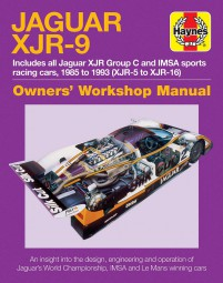 Jaguar XJR-9 · 1985-1992 (XJR-5 to XJR-17) #2# Owners' Workshop Manual
