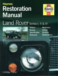 Land Rover Series 1, 2 & 3 (88 & 109) #2# Haynes Restoration Manual · Restaurierungs-Anleitung