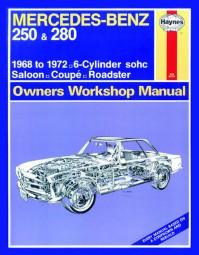 Mercedes-Benz 250 & 280 (W108 W111 W113 W114) 1968-72 #2# Haynes Workshop Manual/Reparaturanleitung