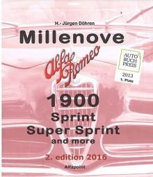 Millenove · Alfa Romeo 1900 #2# Sprint, Super Sprint and more (2. Edition 2016)