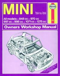 Mini · 1959-1969 #2# Haynes Owners Workshop Manual · Reparaturanleitung