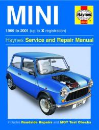 Mini · 1969-2001 #2# Haynes Service and Repair Manual · Reparaturanleitung
