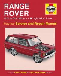 Range Rover V8 · 1970-1992 #2# Haynes Service & Repair Manual · Reparaturanleitung