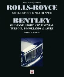 Rolls-Royce Silver Spirit & Spur #2# Bentley Mulsanne Eight Continental Turbo R Brooklands Azure