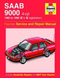 Saab 9000 / Turbo · 1985-1998 #2# Haynes Service & Repair Manual · Reparaturanleitung