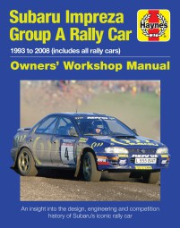 Subaru Impreza Group A Rally Car #2# 1993 to 2008 (all rally cars) · Owners' Workshop Manual