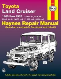 Toyota Land Cruiser 1968-82 (FJ 40 43 45 55) #2# Haynes Repair Manual · Reparaturanleitung
