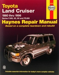 Toyota Land Cruiser 1980-96 (FJ 60 62 80 FZJ80) #2# Haynes Repair Manual · Reparaturanleitung
