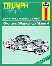 Triumph TR 5 250 6 #2# Haynes Owners Workshop Manual · Reparaturanleitung
